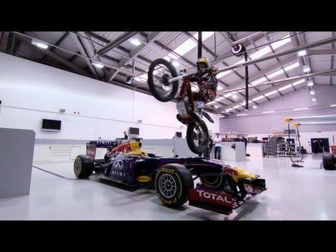 Lampkin, du Trial au siège de Red Bull Racing
