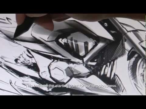 Kawasaki Z800 : un design très « féroce »