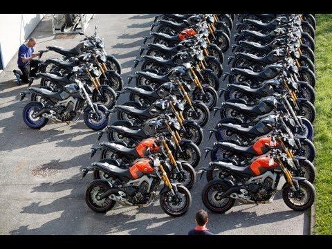 La Yamaha MT-09 en concession dès le 3 octobre