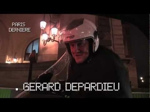 La méthode Depardieu pour draguer en scooter