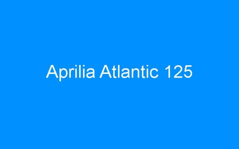 Aprilia Atlantic 125
