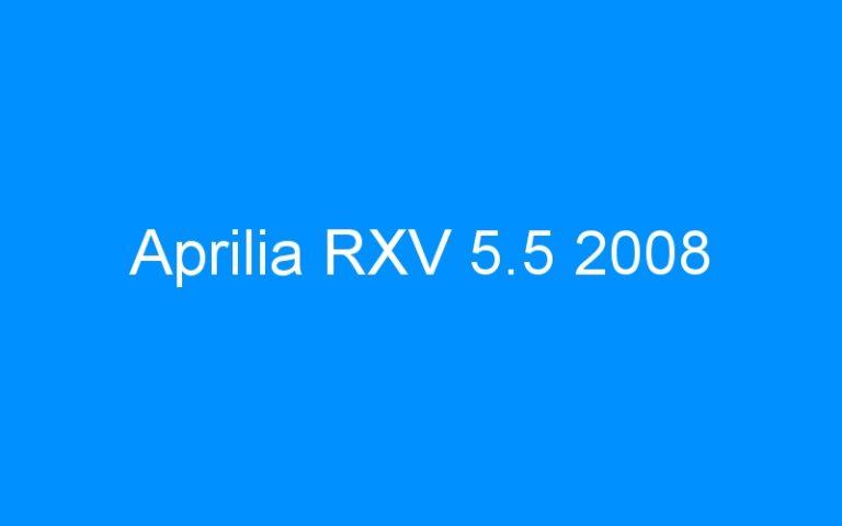 Aprilia RXV 5.5 2008