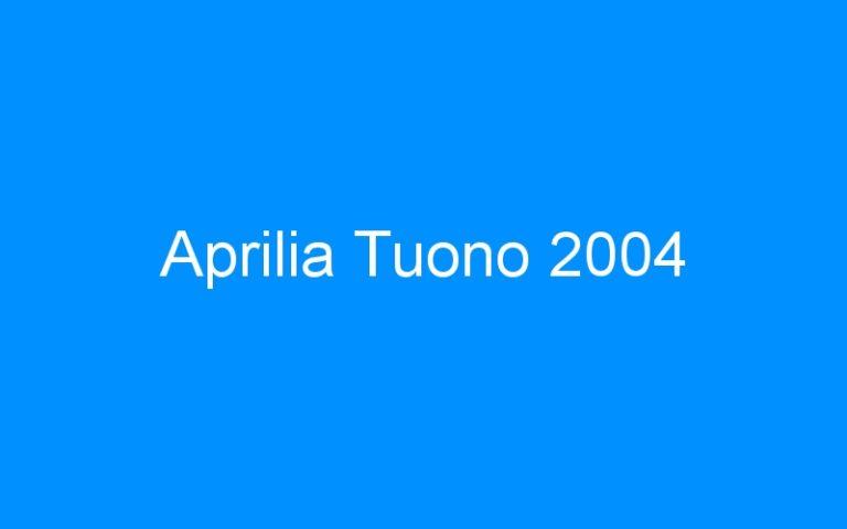 Aprilia Tuono 2004