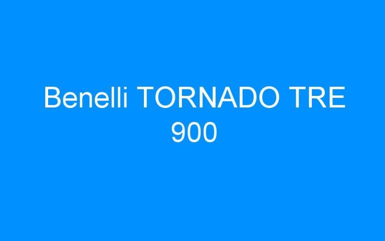 Benelli TORNADO TRE 900