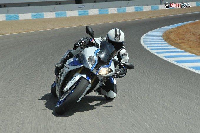 BMW HP4, une authentique moto de course