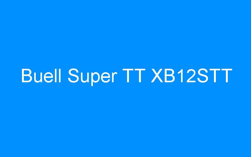 Buell Super TT XB12STT