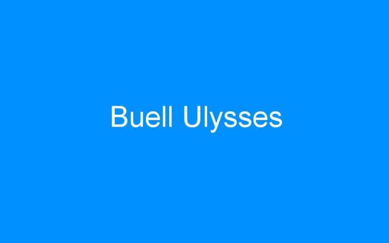 Buell Ulysses