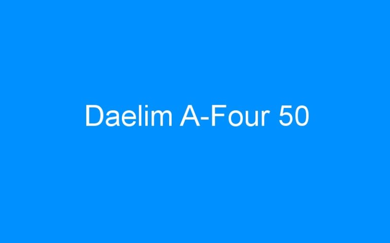 Daelim A-Four 50