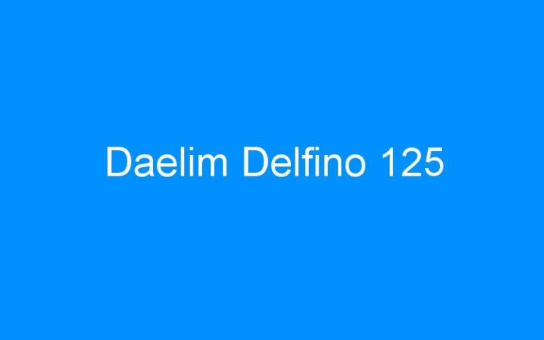 Daelim Delfino 125
