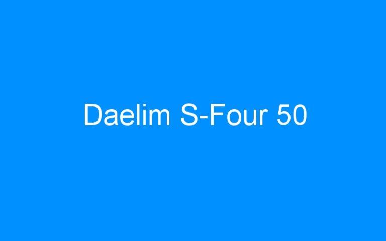 Daelim S-Four 50