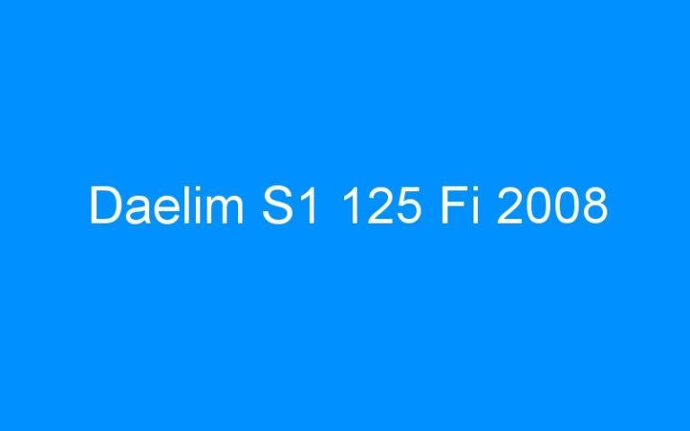 Daelim S1 125 Fi 2008