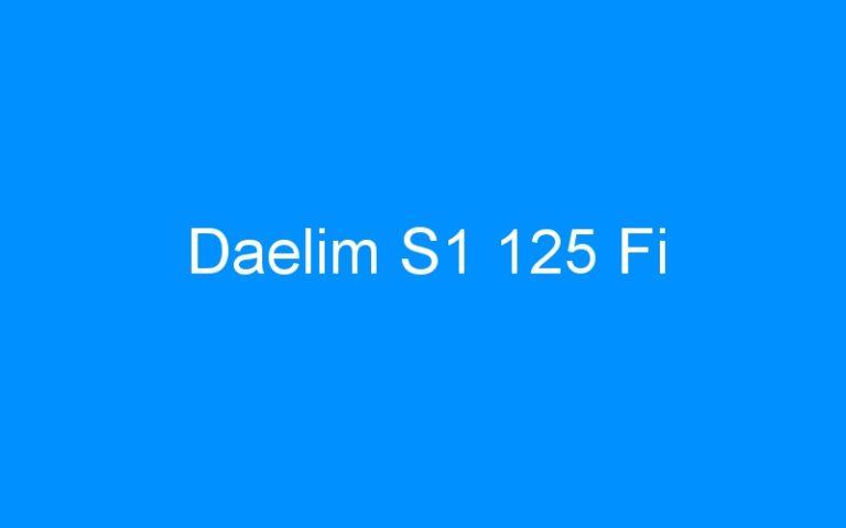 Daelim S1 125 Fi
