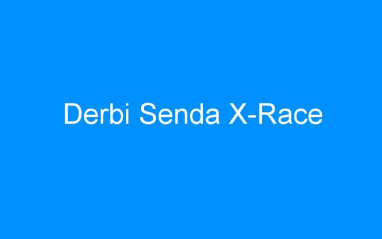 Derbi Senda X-Race