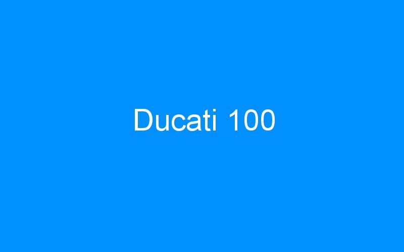 Ducati 100