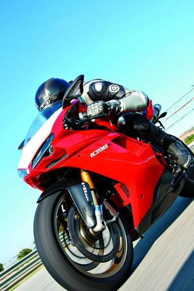 Ducati 1098 R: Ding-dong!