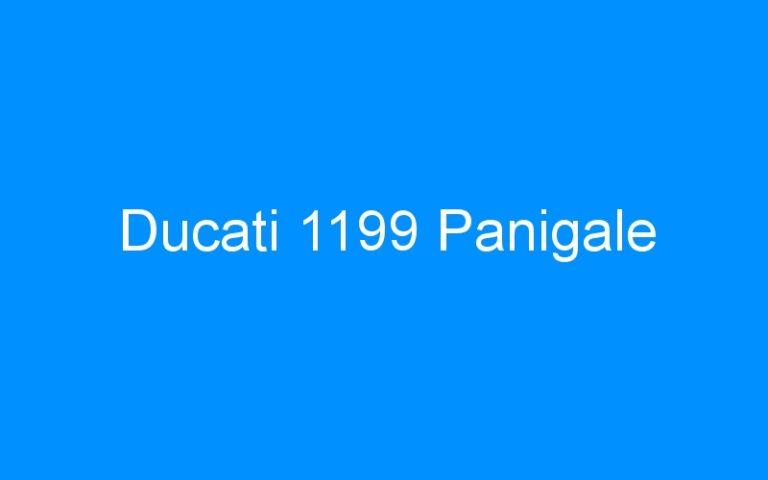 Ducati 1199 Panigale