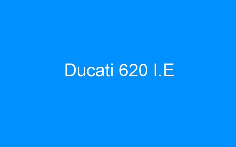 Ducati 620 I.E