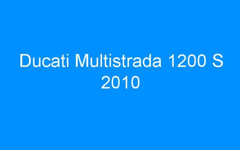 Ducati Multistrada 1200 S 2010