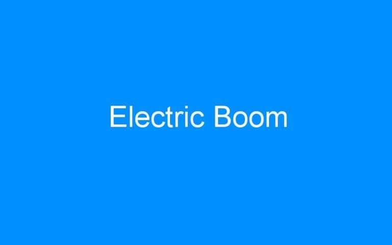 Electric Boom