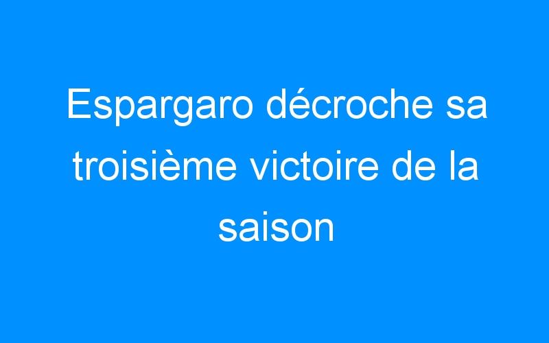 Espargaro décroche sa troisième victoire de la saison