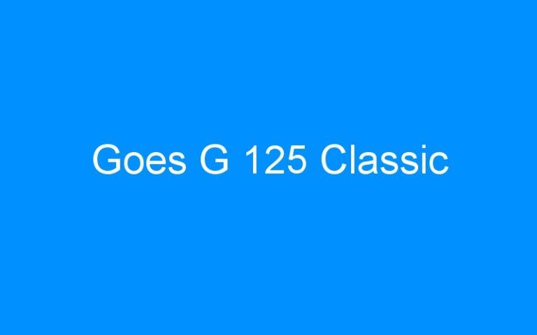 Goes G 125 Classic