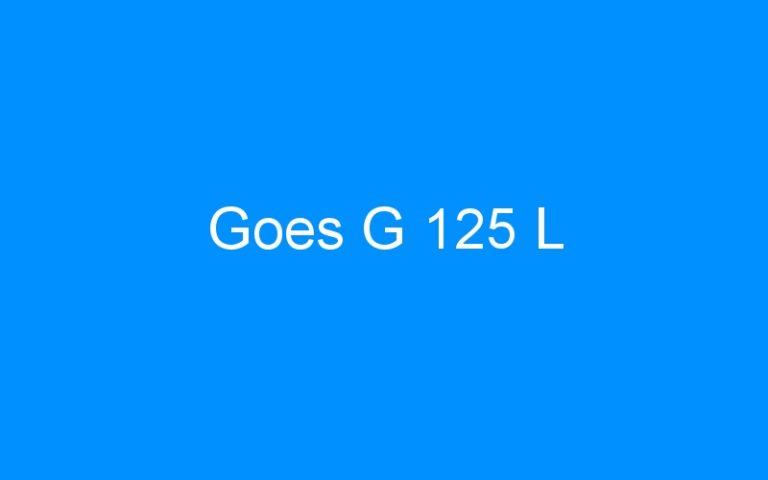 Goes G 125 L