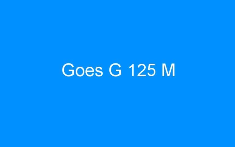 Goes G 125 M