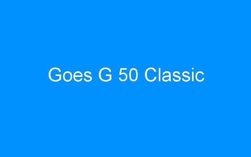 Goes G 50 Classic