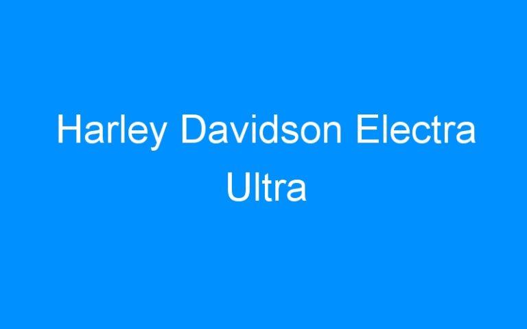 Harley Davidson Electra Ultra