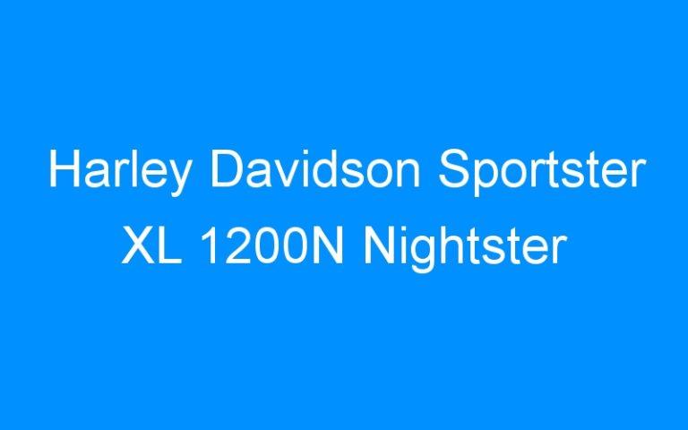 Harley Davidson Sportster XL 1200N Nightster