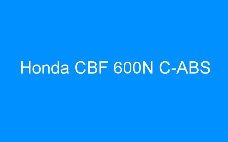 Honda CBF 600N C-ABS