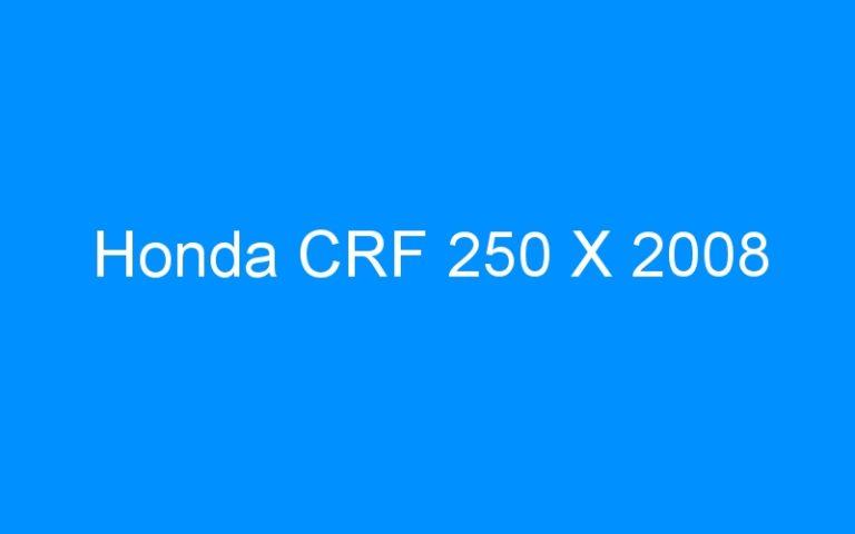 Honda CRF 250 X 2008
