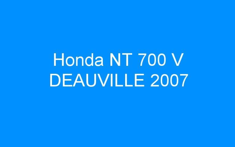 Honda NT 700 V DEAUVILLE 2007