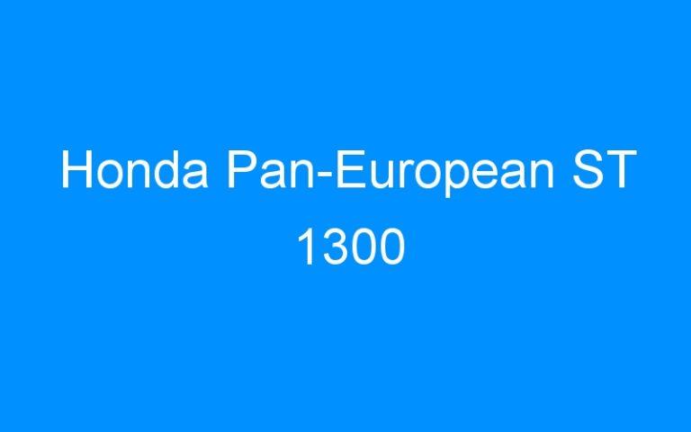Honda Pan-European ST 1300
