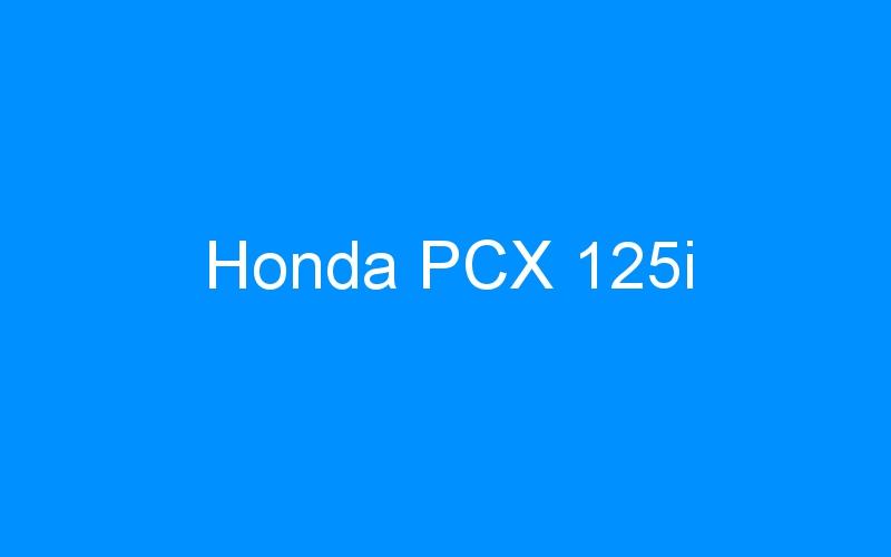 Honda PCX 125i