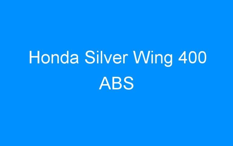 Honda Silver Wing 400 ABS