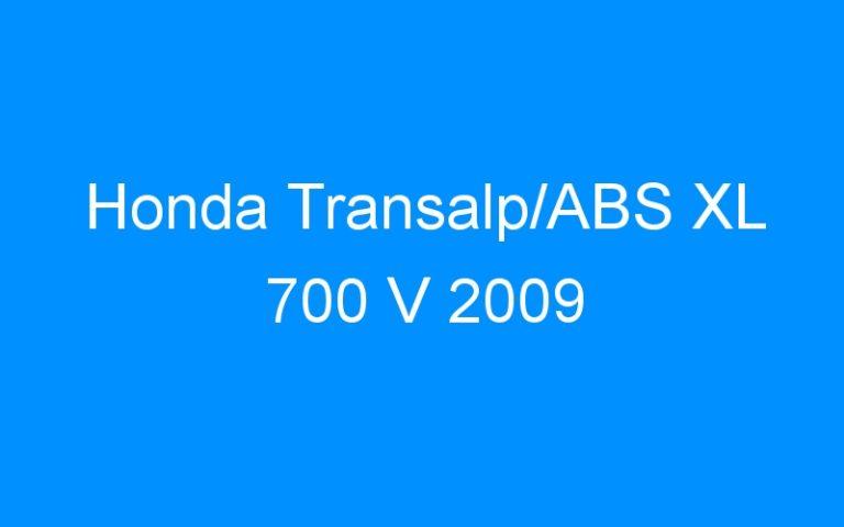 Honda Transalp/ABS XL 700 V 2009