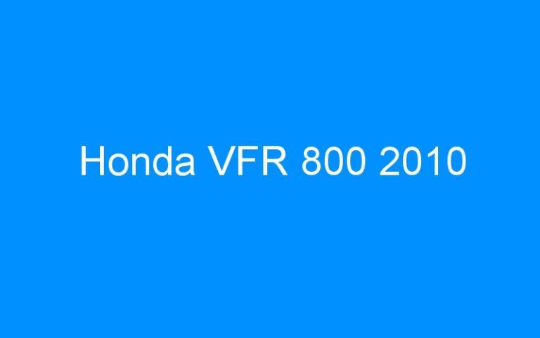 Honda VFR 800 2010