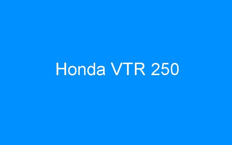 Honda VTR 250