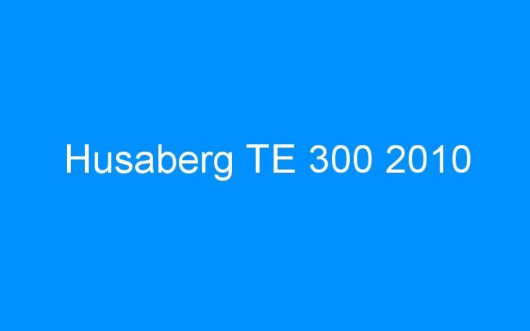 Husaberg TE 300 2010