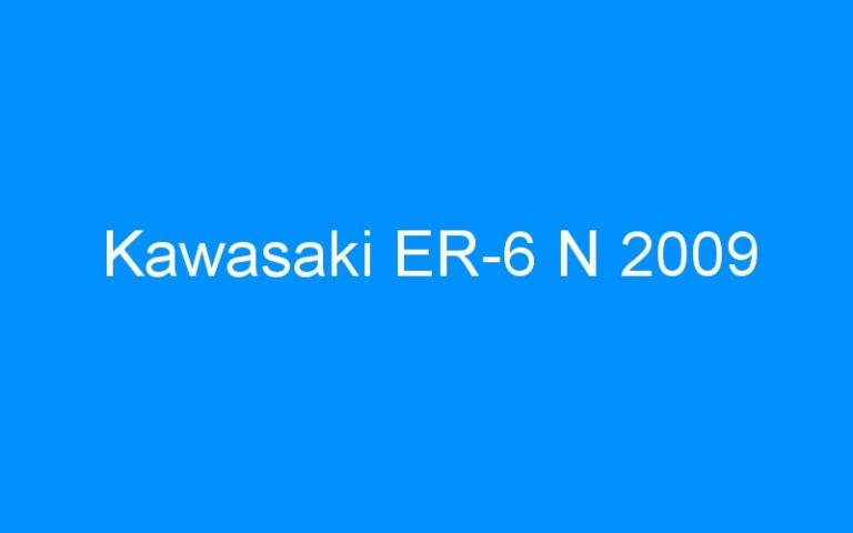 Kawasaki ER-6 N 2009