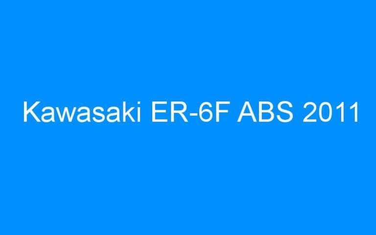 Kawasaki ER-6F ABS 2011