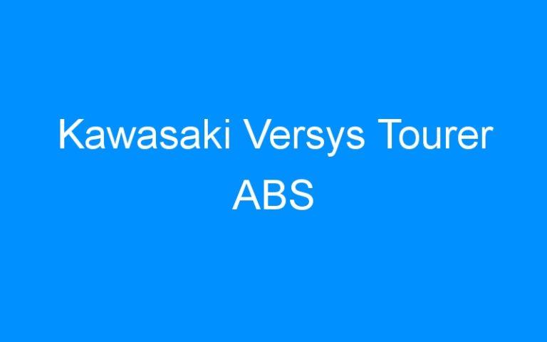 Kawasaki Versys Tourer ABS