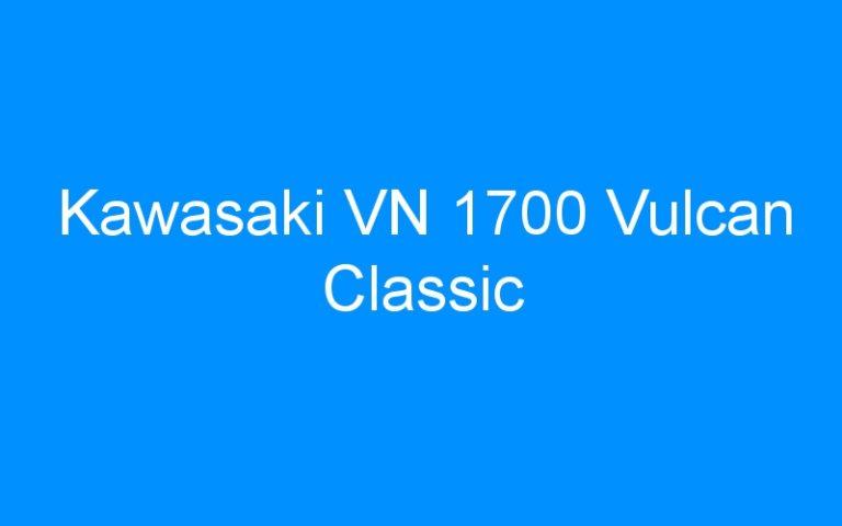 Kawasaki VN 1700 Vulcan Classic