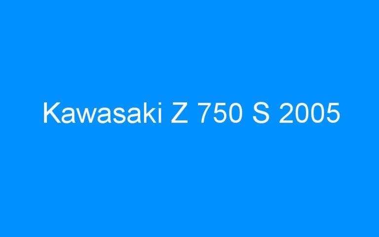 Kawasaki Z 750 S 2005