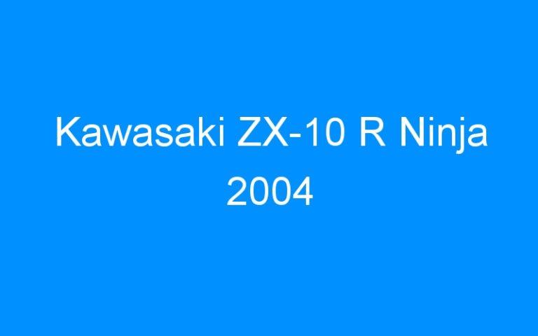 Kawasaki ZX-10 R Ninja 2004