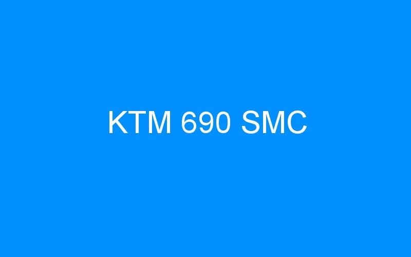 KTM 690 SMC