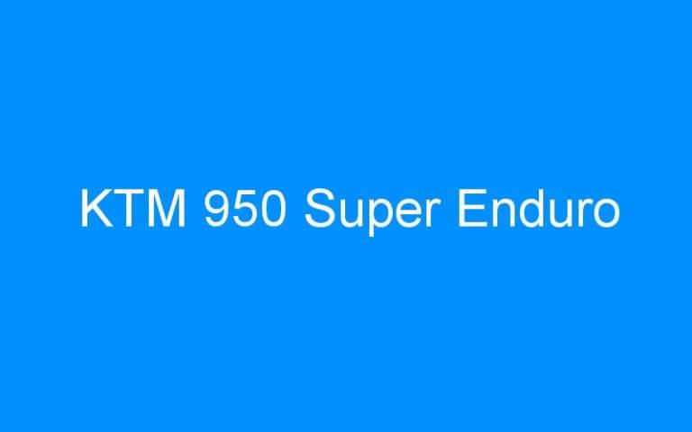 KTM 950 Super Enduro