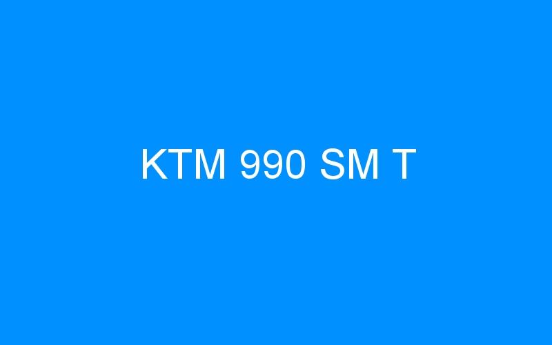KTM 990 SM T