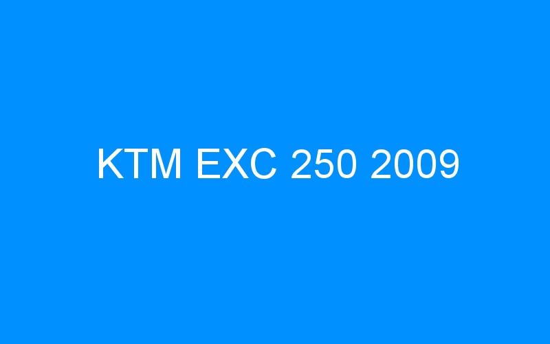 KTM EXC 250 2009